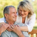 Over 65 Couple Smiling