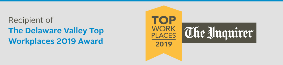 Philadelphia Inquirer Top Workplaces Award
