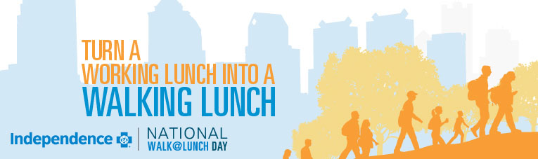 National Walk at Lunch banner