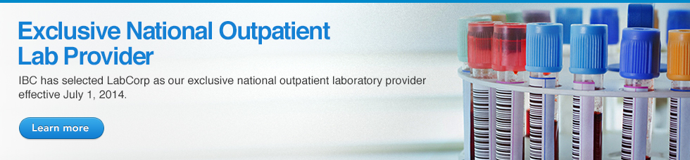 EXCLUSIVE NATIONAL OUTPATIENT LAB PROVIDER